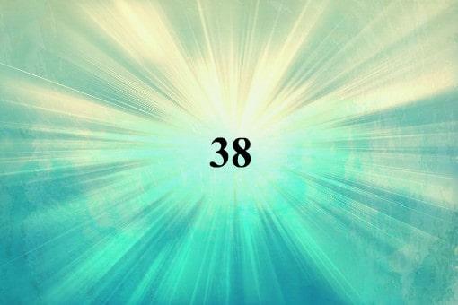chiffre angélique: signification du nombre 38