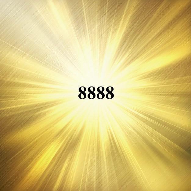 Chiffre angélique, signification du nombre 8888
